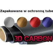 Carbon samolepiaca 3d folia karbon 127x10cm rôzne farby