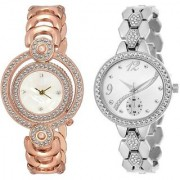 TRUE CHOICE NEW SUPER BRAND SOBER LOOK ANALOG WATCH FOR WOMEN COMBO WITH 6 MONTH WARANTY