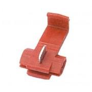 L.S.C. Isolanti Elettrici Morsetto Rapido Per Derivazioni 0,25 - 1,5 Mm2 Rosso