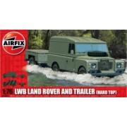 Kit constructie Airfix LWB Land Rover si Trailer