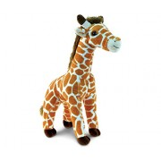 Puzzled Wild Small Giraffe Super - Soft Stuffed Plush Cuddly Animal Toy Animals / Zoo Theme 12.5 Inch (5772)