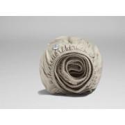 Yumeko Hoeslaken katoen satijn sandy grey 180x200x30