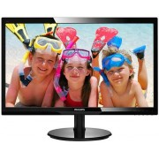 "Monitor TFT LED Philips 24"" 246V5LDSB, Full HD (1920 x 1080), VGA, DVI, HDMI, 1 ms (Negru)"