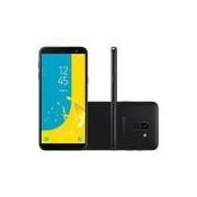 Smartphone Galaxy J6 J600, Android 8, Memória Interna de 32gb, Câmera de 13mp, Tela de 5.6, Preto - Samsung