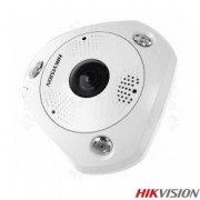 Camera supraveghere Dome IP Hikvision - DS-2CD6362F-I Fisheye 6 MP IR 15 m 1.27 mm