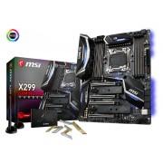MB MSI X299 GAMING PRO CARBON AC, LGA 2066, ATX, 8x DDR4, Intel X299, S3 8x, WL, Bt, 36mj