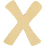 Rayher hobby materialen Houten lettertje X