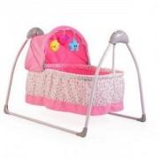 Електрическа бебешка люлка Cangaroo Accent, розова, 3563299