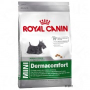 2x10kg Mini Health Nutrition Dermacomfort Royal Canin Size ração