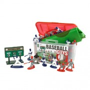 Kaskey Kids 5208 Baseball Guys Red & Blue with Field and Coloring Book
