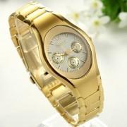 Rosra Gold Women stylish golden watch for women by SHREE LADLI FASHION 6 MONTH WARRANTY