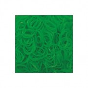 Elastice Rainbow Loom - Jelly Verde-lime-600 buc