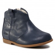 Ghete CLARKS - Drew Dawn T 261537006 Navy Leather