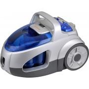Aspirator fara sac Vortex VO4502, 2 L, 800 W, Filtru HEPA, Perie de podea, Perie pentru spatii inguste, Perie canapele, Gri/albastru
