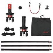 Joby Action Jib Kit & Pole Pack   Zwart/Rood