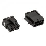 Set conectori CableMod Connector Pack - 8 pin EPS12V - Black
