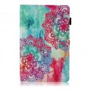 Shop4 - Samsung Galaxy Tab A 10.5 Hoes - Book Cover Kleurrijke Mandala
