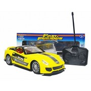 Fast and Furious Fully loaded radio control car (Yellow California)