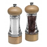 Комплект мелнички за сол и пипер COLE & MASON BASICS - 16 см