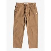 Quiksilver Omine - Pantalones con diseño hasta el tobillo para Chicos 8-16 - Marron - Quiksilver