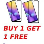 Oppo Realme U1 5D Black Tempered Glass Combo Deal Buy 1 Get 1 Free Standard Quality