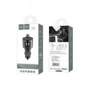 Transmissor FM Wireless com Saida 2.4A Hoco E19 Preto em Blister