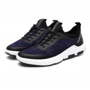 Zapatos Para Hombre De Encaje De Corriendo - Azul