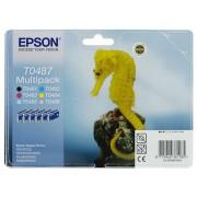 Epson T0487 Patron Multipack (Eredeti) R200 R220 R300 R300M R320 R340 RX500 RX600 RX620 RX640