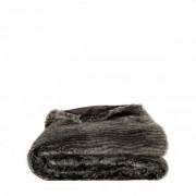 LEIA STRIPE Throw - Grey, 150x260