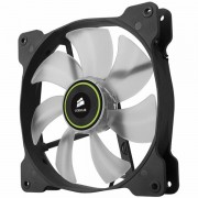 Corsair The Air Series SP 140 LED High Static Pressure Fan Cooling, Green, Dual Pack CO-9050037-WW
