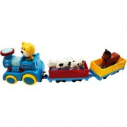 ShopMeFast Cartoon Series Train Track Set Toy For Kids With Light And Music