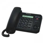 Стационарен телефон Panasonic KX-TS560FXW, черен 1010027