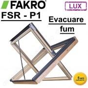 Fereastra mansarda de evacuare a fumului Fakro FSR P1