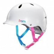 Bern Bandita Satin White 2014 M/L (53-56 cm) Cykelhjälmar & Skydd