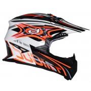 Suomy Rumble Vision Motocross Helmet Orange S