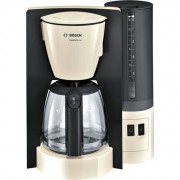 Cafetiera Bosch TKA6A047, 1.2 L, selector aroma, anti-picurare, oprire automata, program decalcifiere, Bej