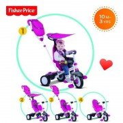 Tricicleta 3 in 1 Charisma Roz Fisher Price