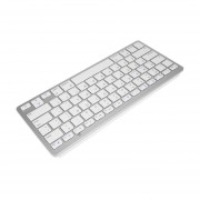 Plata Ultra-delgado Teclado Inalámbrico Bluetooth Para Aire Para Ipad Mini Para Mac