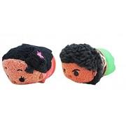 Set of 2: Disney Tsum Tsum Plush - Disney Moana - Mini - 3 1/2 MOANA, MAUI - Inspired by Disneys Moana.