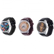 Combo Of Three Graphic Watches For Men