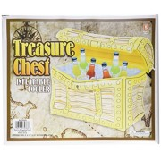 Inflatable Pirate Treasure Chest Cooler.