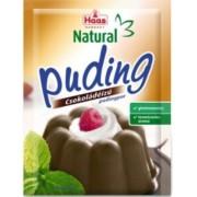 Haas Natural puding, 44 g - csokoládés
