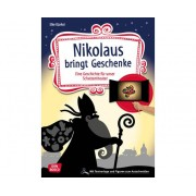 Don Bosco Nikolaus bringt Geschenke- Schattentheater-Set