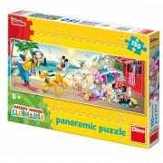 Puzzle Clubul lui Mickey Mouse La plaja 150 piese Dino Toys