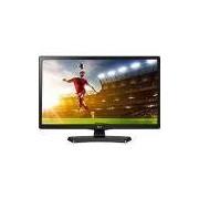 TV LED 19,5 LG 20MT49DF-PS HD com Conversor Digital 1 HDMI 1 USB 60Hz Time Machine Ready Preta