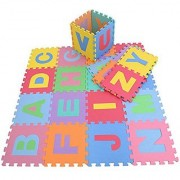 PowerTRC Puzzle Foam Mat with Alphabet and Numbers (36 Tiles)
