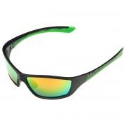 BRIKO Occhiali da sole Briko Action nero-verde (Colore: nero-verde, Taglia: UNI)