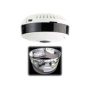 7Links Caméra de surveillance IP panoramique 360° à vision PIR