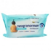 Neogranormon törlőkendő sensitive - 55db
