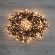 SkyLantern® Original Guirlande Lumineuse Cluster 384 LEDs Blanc chaud 2,35 m Clignotant